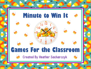Minute To Win It Game Fall Edition