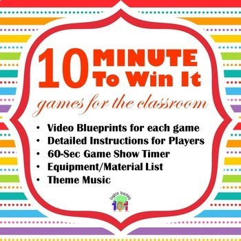 Minute To Win It Games - The Ultimate Resource!