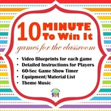 Minute To Win It Games for Younger Kids, Birthdays and End