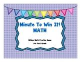 Minute To Win It! MClass Math Practice