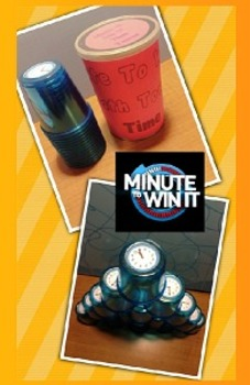 Minute To Win It Math Towers