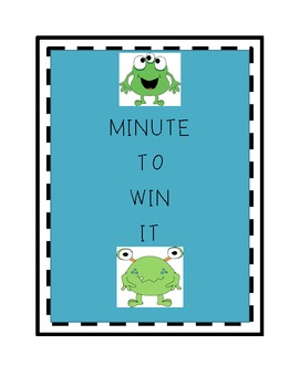 Minute To  Win It Stations
