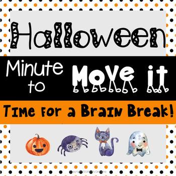 Minute to Move It - Halloween {Brain Break}