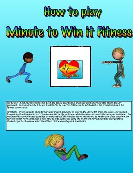 Minute to Win Fitness