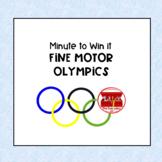 Minute to Win It Fine Motor Olympics