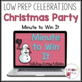 Minute to Win It Holiday Class Party: Low Prep