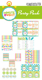 Minute to Win It Party Printable Decoration Kit