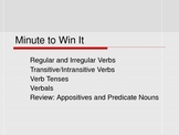 Minute to Win It - Review/Assessment - Power Point