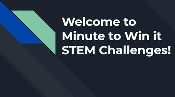PREVIEW Minute to Win It STEM Challenges