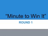 Minute to Win It Test Prep (6th grade Language Arts)