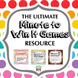 Minute to Win It Ultimate Resource Pack!
