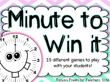 Minute to Win it-25 games