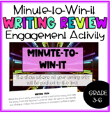 Minute-to-Win-it: Writing Review
