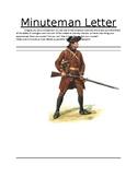 Minuteman Letter