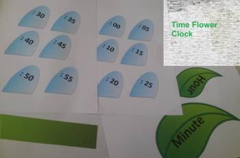 Minutes Clock Flower