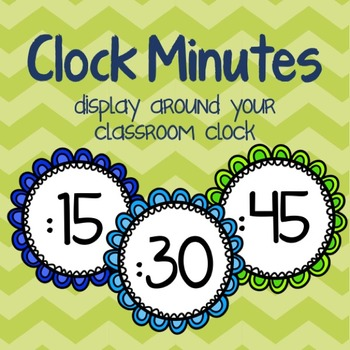 Minutes around the Clock {Telling Time}
