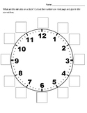 Minutes on a Clock    Page 1