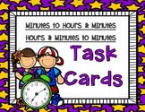 Minutes to Hours, Hours to Minutes Task Cards