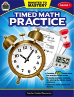 Minutes to Mastery - Timed Math Practice Grade 1 (enhanced ebook)