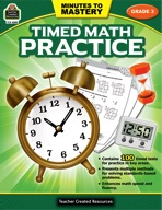 Minutes to Mastery - Timed Math Practice Grade 3 (enhanced ebook)