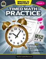 Minutes to Mastery - Timed Math Practice Grade 4 (enhanced ebook)