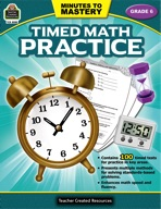 Minutes to Mastery - Timed Math Practice Grade 6 (enhanced ebook)