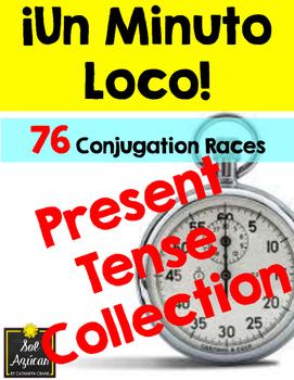 Minuto Loco - The Present Tense Collection - Conjugation Races