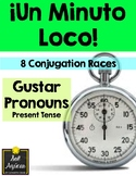Minuto Loco - Gustar and Pronouns - Standard Size - 8 Conj
