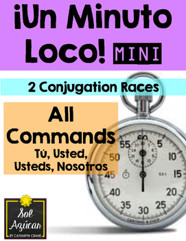 Minuto Loco Mini - All Command Forms - Conjugation Races