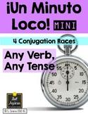 Minuto Loco Mini - Any Verb, Any Tense Conjugation Races