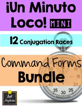 Minuto Loco Mini - Command Forms BUNDLE - Imperative Tenses