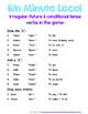 Minuto Loco Mini - Conditional Tense Conjugation Races