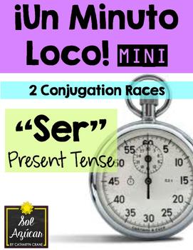 Minuto Loco Mini - SER in Present Tense - Conjugation Races
