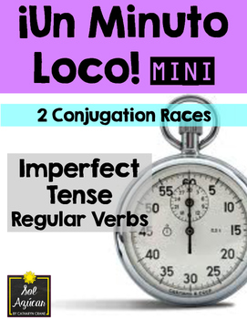 Minuto Loco Mini - Imperfect Regular Verbs - Conjugation Races