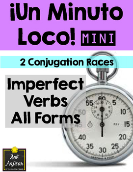 Minuto Loco Mini - Imperfect Verbs - All Forms - Conjugation Races