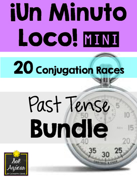 Minuto Loco Mini - Past Tense BUNDLE - All Preterite and I