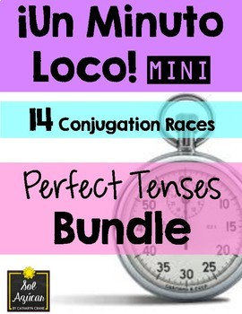 Minuto Loco Mini - Perfect Tense BUNDLE - Los Tiempos Perfectos