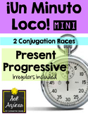 Minuto Loco Mini - Present Progressive Conjugation Races