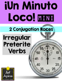 Minuto Loco Mini - Preterite Irregular Verbs - Conjugation Races