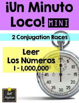 Minuto Loco Mini - Reading Numbers 1 - 1,000,000 - Leer los números