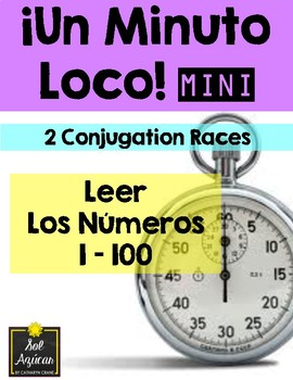 Minuto Loco Mini - Reading Numbers 1 - 100 - Leer los números 1 - 100