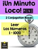 Minuto Loco Mini - Reading Numbers 1 - 1000 - Leer los números 1 - 1000