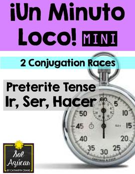 Minuto Loco Mini - Preterite of Ir, Ser, Hacer - Conjugation Races
