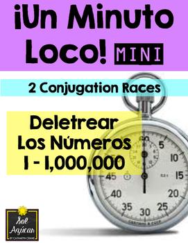 Minuto Loco Mini - Spelling Numbers 1 - 1,000,000 - Deletrear los números