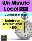 Minuto Loco Mini - Spelling Numbers 1 - 100 - Deletrear los números 1 - 100