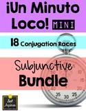 Minuto Loco Mini - Subjunctive BUNDLE - 18 Conjugation Rac