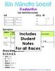 Minuto Loco Mini - Subjunctive BUNDLE - Conjugation Race Sheets