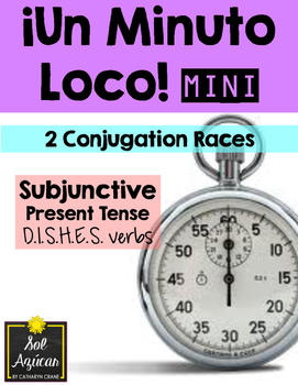 Minuto Loco Mini - Subjunctive Present Tense DISHES Verbs