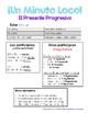 Minuto Loco - Present Progressive - Standard Size - 8 Conjugation Races