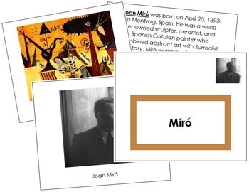 Miró (Joan) Art Book - Color Border